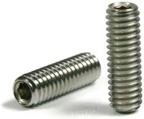 Socket Set Screw Cup Point Stock Photo