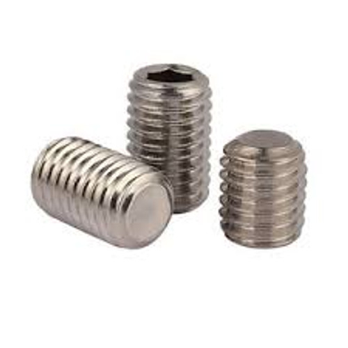 Socket Set Screw Flat Point Stock Photo