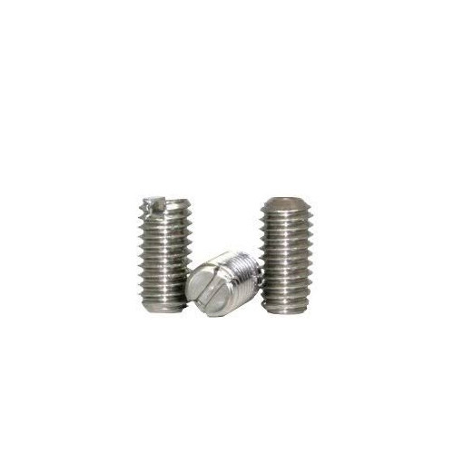 Slotted Set Screw Cup Point Stock Photo