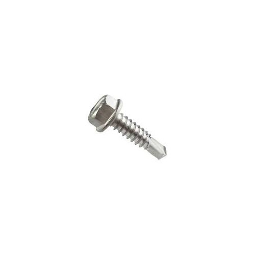 Hex Washer Self Drilling Screws No Slot Stock Photo