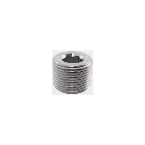 3/8-18 Socket Pipe Plug 7/8 Taper 316 Stainless Steel Qty 100