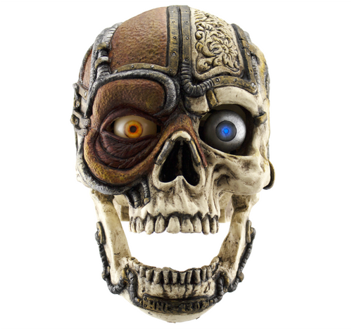SteamPunkV2 Talking Skull