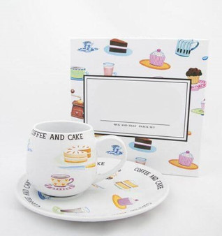 Coffee and Cake Set