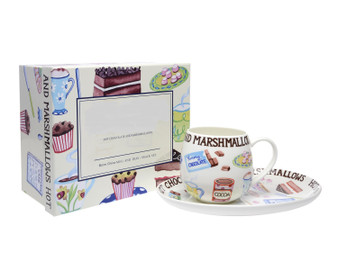 Hot Chocolate and Marshmallows Set