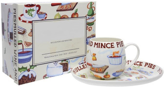 Mulled Wine and Mince Pies Set
