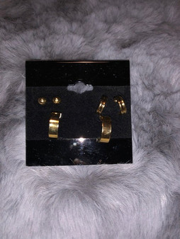 3 Earring Set