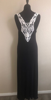 Black Decorative Dress