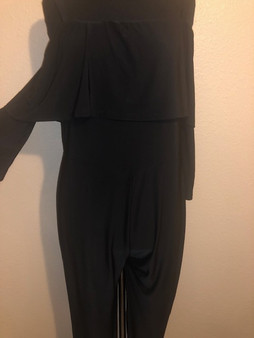 Black Silky Jumpsuit