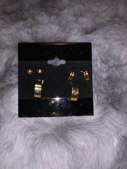 3 Earring Set
