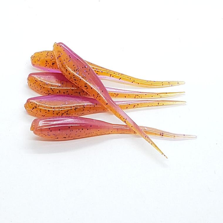 Light Purple/Orange Speckle Minner