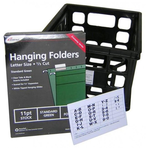 Letter Caddy for Flexible Changeable Sign Letters