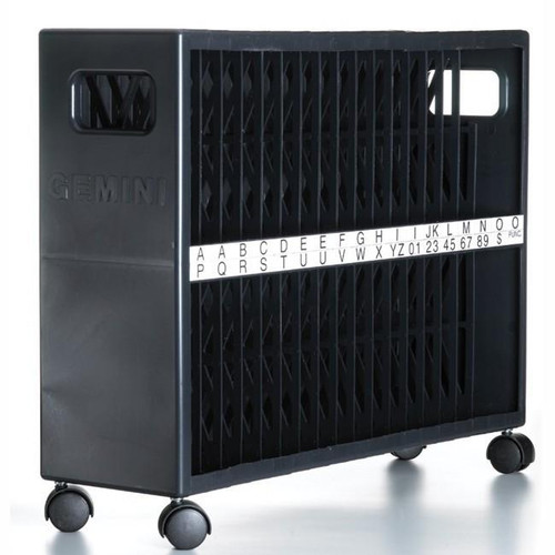 Letter Storage Case for Gemini Sign Letters with Wheels