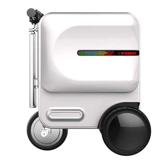 Rydebot Cavallo Motorized Rideable Luggage in Suitcase Mode