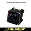 Logitech G Flight Simulator Instrument Panel 1 of 15