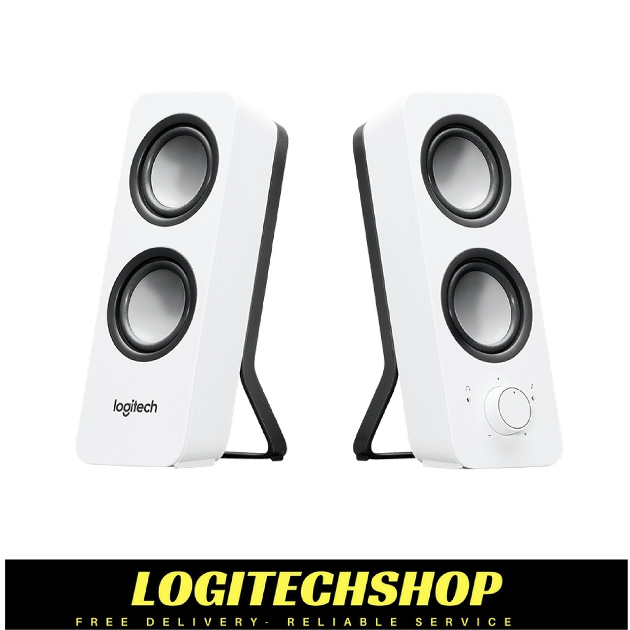 fb6560e1271 LOGITECH Z200 2.0 Multimedia Speakers- White | Logitechshop