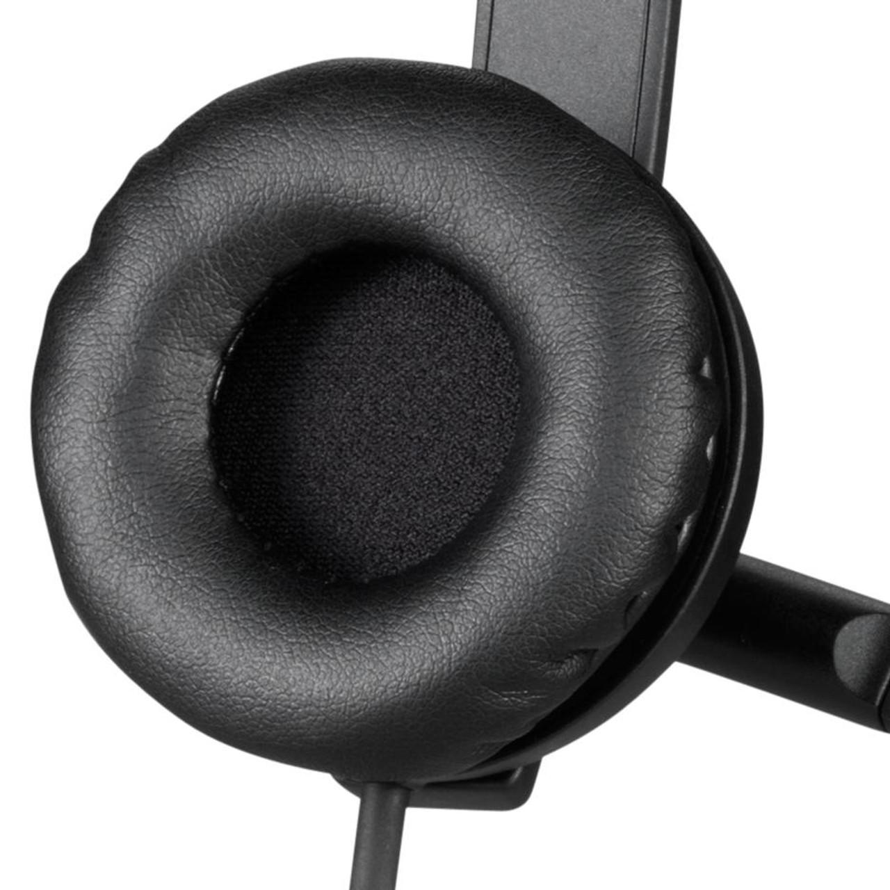 4898b793c2e Logitech USB Headset Stereo H570e  Logitech H570e leatherette ear pads