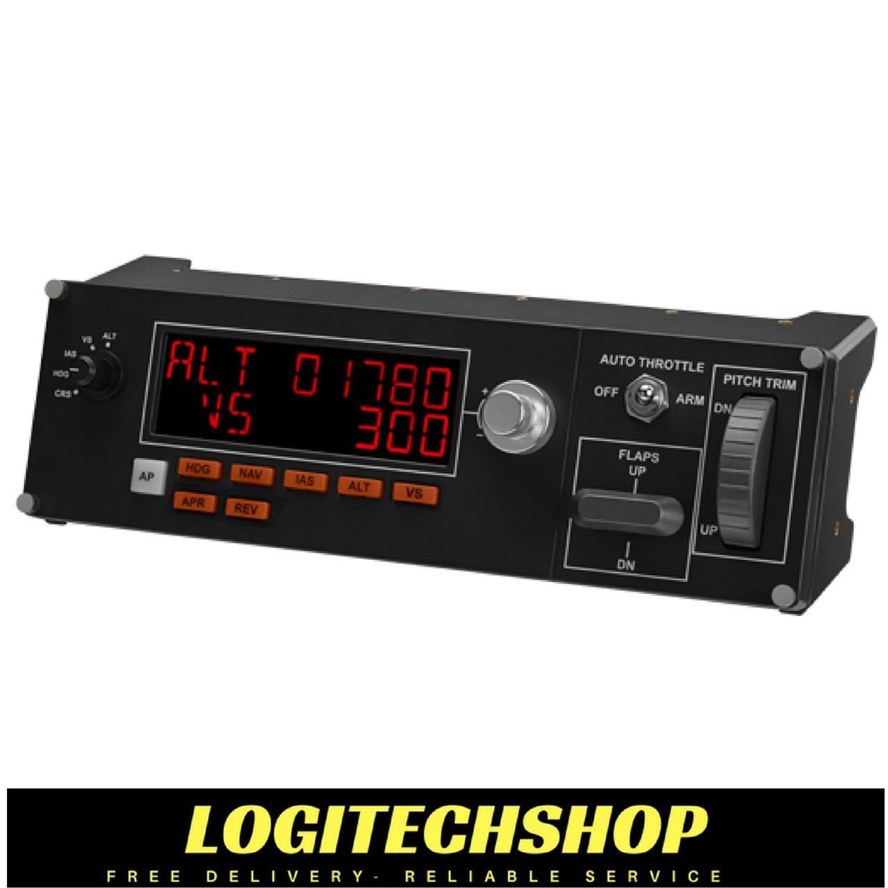 Logitech G Flight Multi Panel Pro Simulation Autopilot Controller