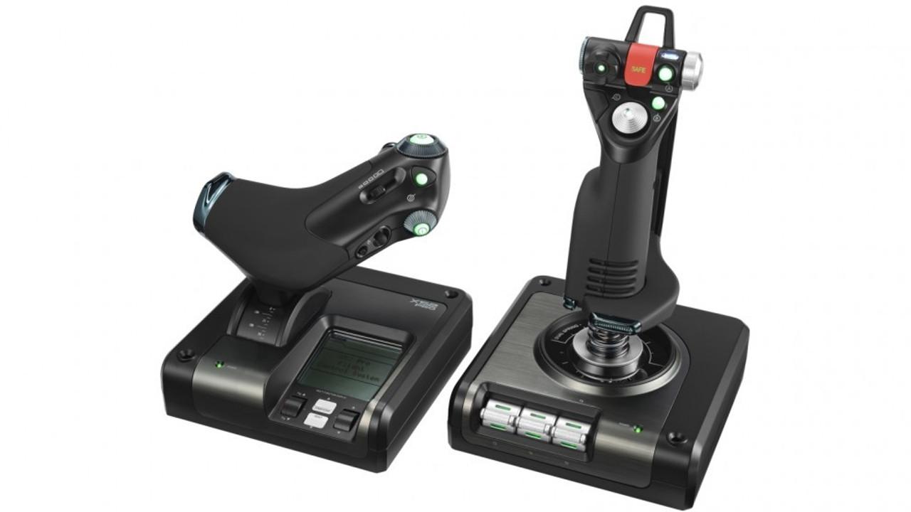 Logitech G X52 Pro Flight Simulator H O T A S Controller