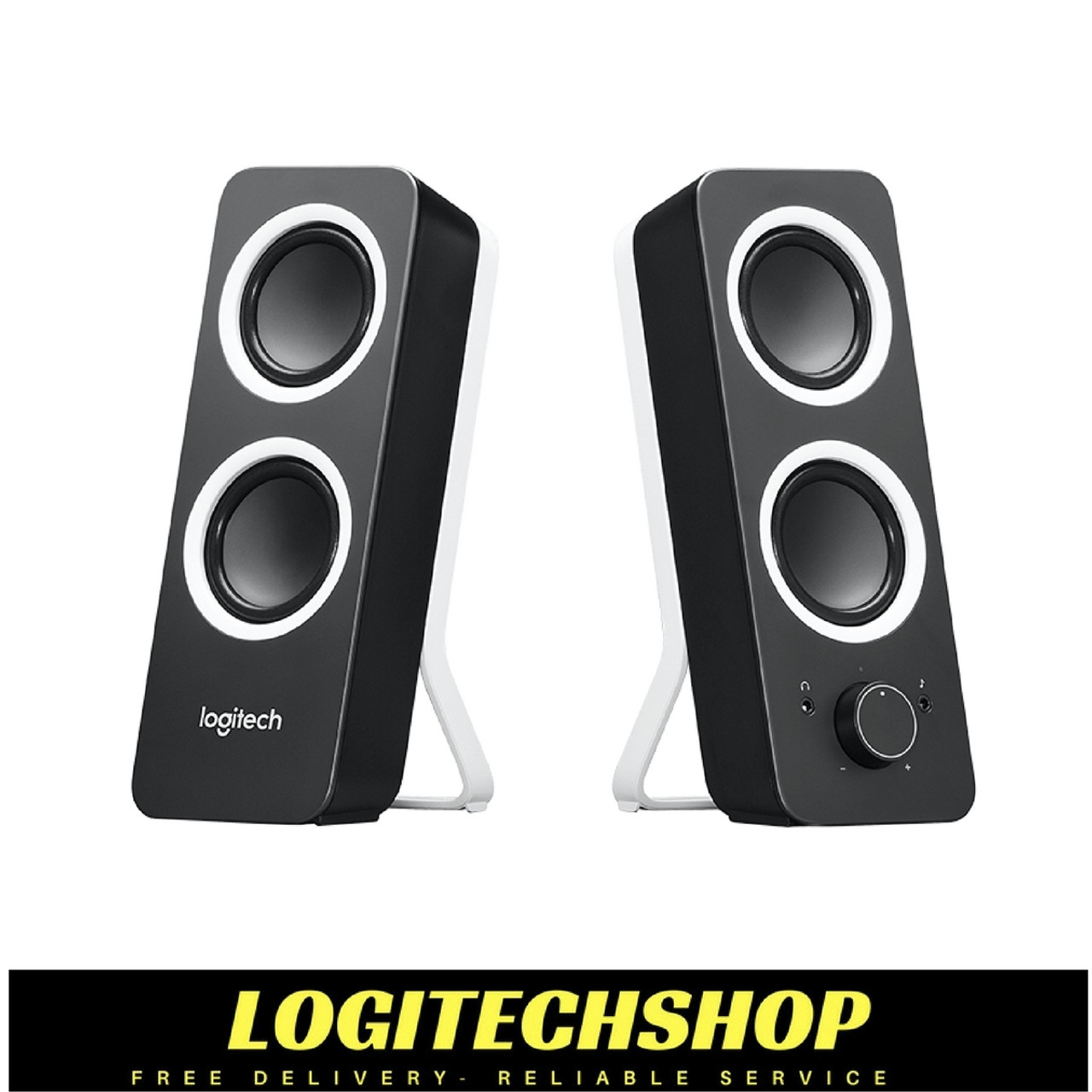 07cefb56307 Logitech Z200 2.0 Multimedia Speakers- Black | Logitech shop