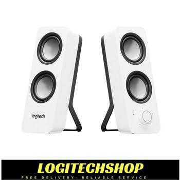 Logitech Z200 2.0 Multimedia Speakers - White