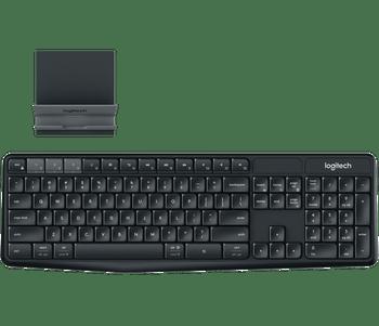 Logitech K375S Multi Device Wireless Keyboard and Stand combo