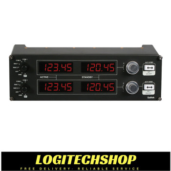 Logitech Flight Radio Panel Professional Simulation Radio Controller