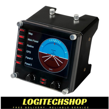 Logitech G Flight Simulator Instrument Panel