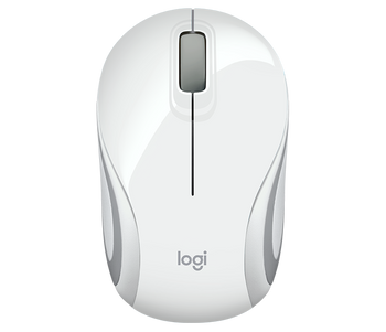 Logitech M187 Wireless Ultra Portable Mouse- White
