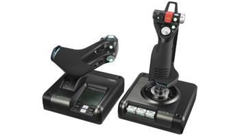 Logitech Gaming X52 Pro Flight simulator H.O.T.A.S Controller