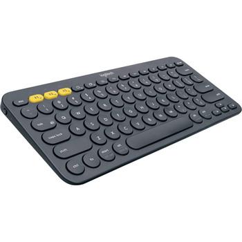 k380 Multi-Device Bluetooth Keyboard- Black