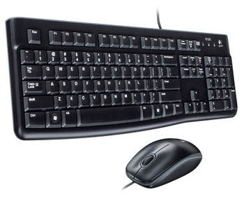 Logitech MK120 Plug and Play Keyboard Combo
