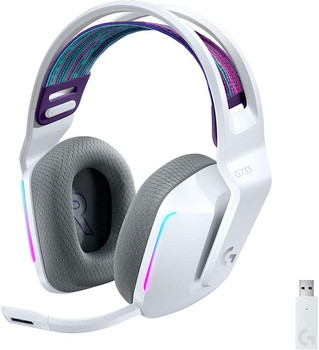 Logitech G733 Lightspeed Wireless Gaming Headset White