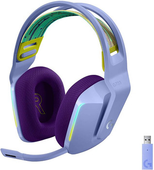 Logitech G733 Lightspeed Wireless Gaming Headset Lilac