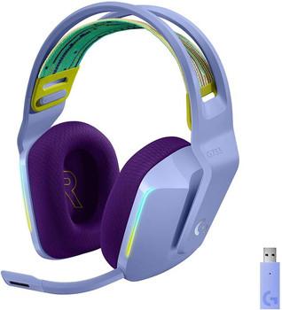 Logitech G733 Lightspeed Wireless Gaming Headset Lilac