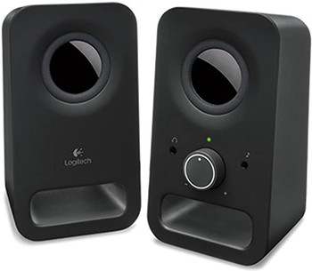 Logitech Z150 Stereo Speakers Black
