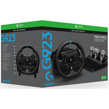 Logitech G923 Racing Wheel and Pedals for Xbox One & PC