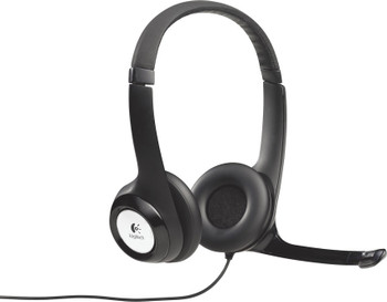 Logitech H390 headset usb connection- Black