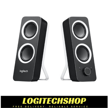 Logitech Z200 2.0 Multimedia Speakers- Black