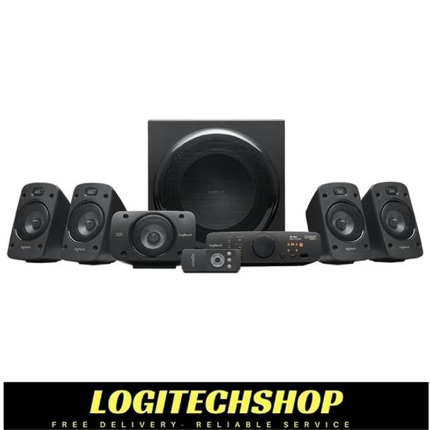 Logitech Z906 5 1 Surround Speaker System 500 Watts Rms