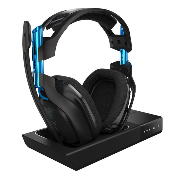 Astro A50 Wireless Headset + Base Station For PS4 - Black