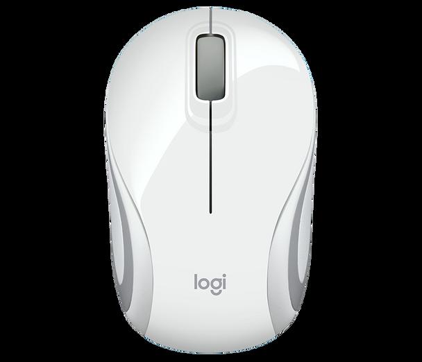 Logitech M187 Wireless Ultra Portable Mouse- White