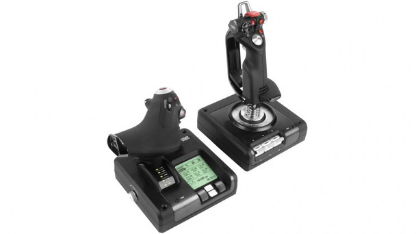 Logitech G X52 Pro Flight simulator H.O.T.A.S Controller