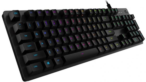 Logitech G512 Carbon RGB Mechanical Gaming Keyboard GX Blue Clicky