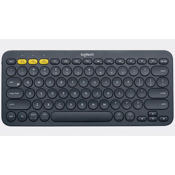 Logitech k380 Multi-Device Bluetooth Keyboard- Black