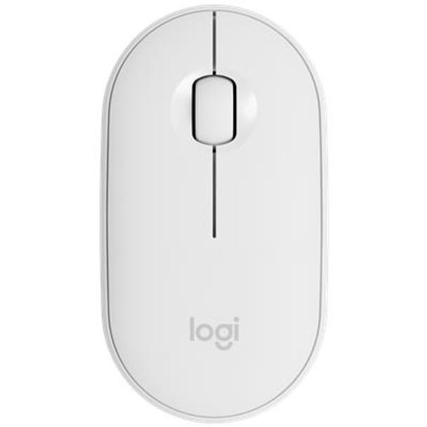 Logitech M350 Pebble Wireless Mouse Off-White