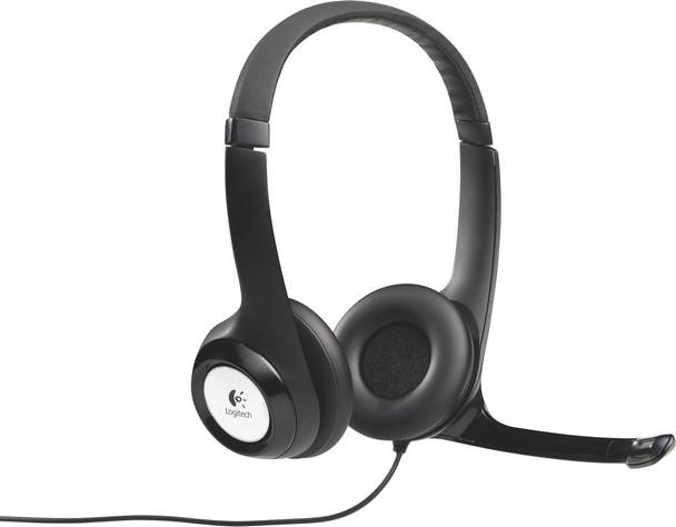 Logitech H390 headset usb connection- Black