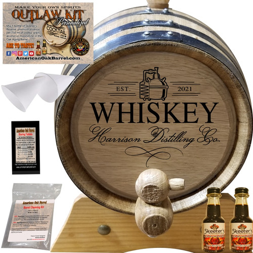 PERSONALIZED OUTLAW KIT™ (403) YOUR WHISKEY DISTILLING CO. - CREATE YOUR OWN SPIRITS