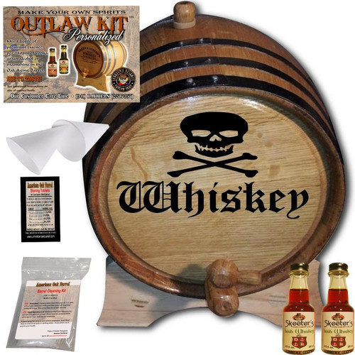 Engraved Outlaw Kit™ (002) Whiskey - Create Your Own Spirits