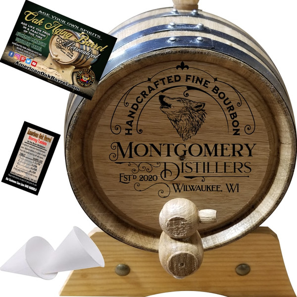 Handcrafted Fine Bourbon (302) - 2020 Handcrafted Series : Wildlife Bourbon
