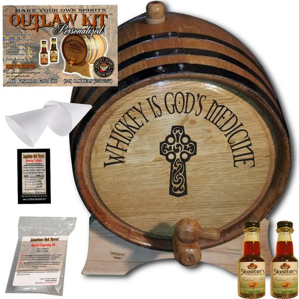 Engraved Outlaw Kit™ (031) Irish God's Medicine - Create Your Own Spirits